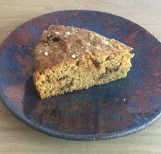 ecette ayurvédique de cake aux épices végétalienne pour Vata et Pitta
