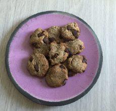 cookies noisettes et chocolat bio