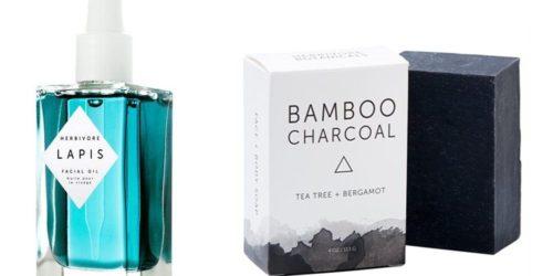 produits bio herbivore lapis lazuli, savon au charbon