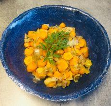 recette ayurvédique shak poireaux, carottes