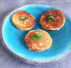 Pancakes ayurvédiques sucrées aux pommes épicées