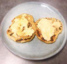 Galettes Chapatis fromage frais curcuma et romarin