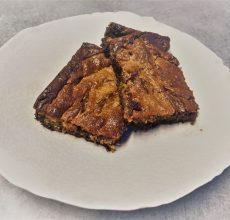 Brownie patate douce et beurre de cacahuète
