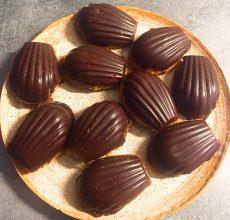 madeleines chocolat orange succulance ayurveda
